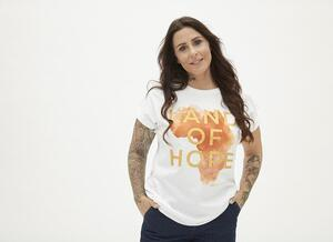 T-Shirt Land of Hope fra ZE-ZE