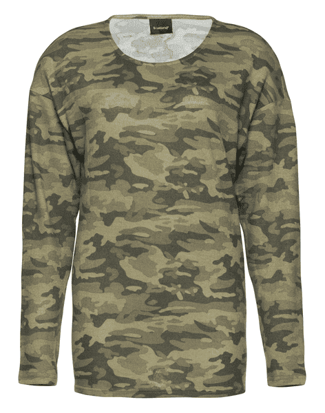 Bluse fra b.young i army look
