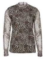 Leopard bluse fra b.young